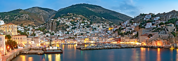 Saronic Island, Aegean Sea, Peloponnese, Greece