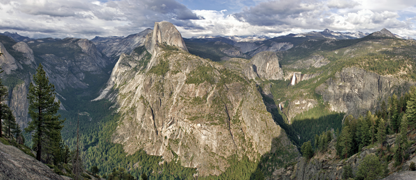 Half Dome, Yosemite Valley, Hiking, Camping, Scenic Drive