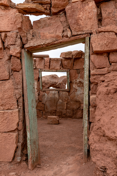 Doors and Windows, Lees Ferry, Marble Canyon, Page, Arizona