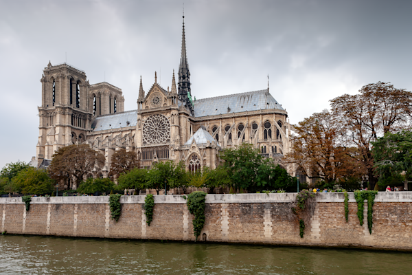 Gothic, Church, Paris, France, Middle Ages, Cathedral, Nave, Spire, Gargoyles