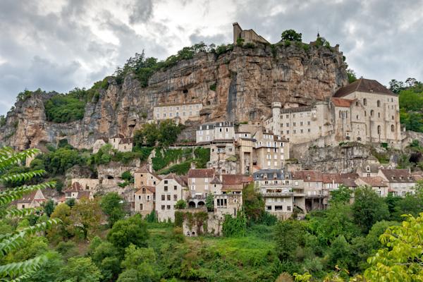 Clifftop Village, Gothic Basilica, Black Madonna, Religious Buildings