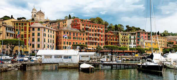 Liguria, Waterfront, Harbor, Resort, Italian Riviera, Ligurian Sea, Fishing Village