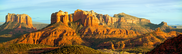 Vortex, Red Rock Country, Oak Creek Canyon, Coconino National Forest, Sandstone Canyon, Cathedral Rock, Sedona