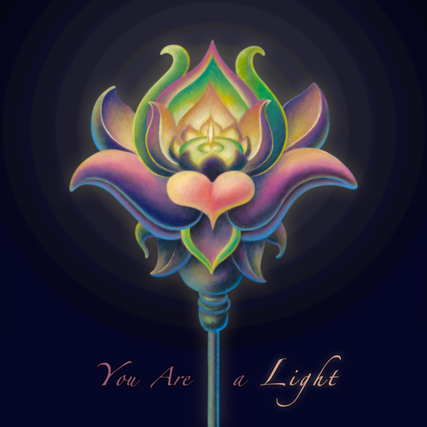 You are a Light - Fine Art Print - The Art of Ishka Lha