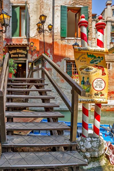 Restaurant, Trattoria, Venetian Cuisine, Venice, Italian dishes
