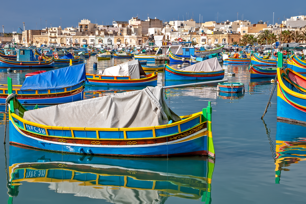 Fishing Village, Harbor, Seafront, Market, luzzi, Maltese islands