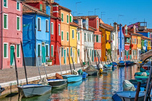 Fishing Village,  venetian masks,  palafittes, Bepi's house, lacemaking