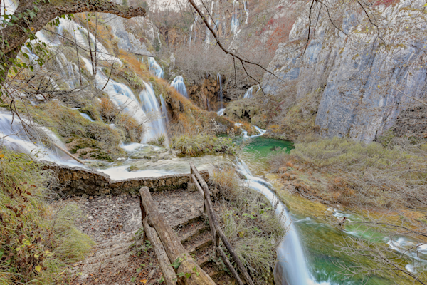 Republic of Croatia, National Park,  limestone canyon, forest reserve, UNESCO World Heritage register