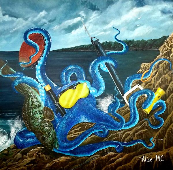 Octopus Freediver