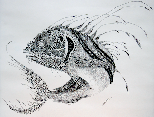Wicked Rooster Fish*