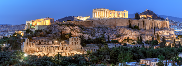 ancient citadel, Parthenon, Athens, Greece, Old Temple of Athena