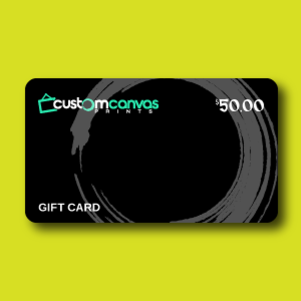 $50 Gift Card by Custom Canvas Prints