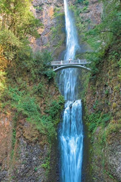 Columbia River Gorge, Multnomah Falls, Oregon, Waterfalls