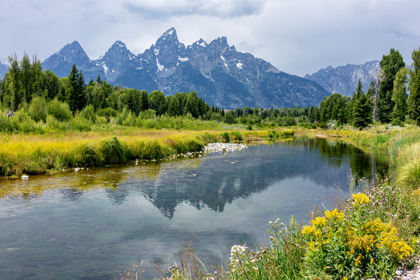 Grand Tetons, Launch Site, Snake River, Wyoming, National Park