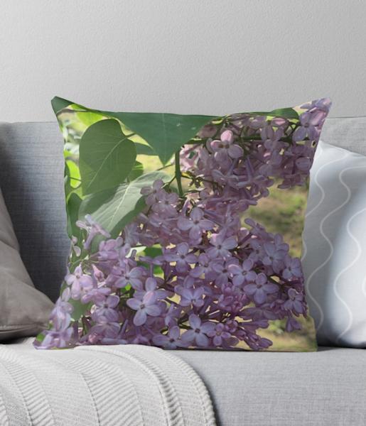 Lilac Pillows