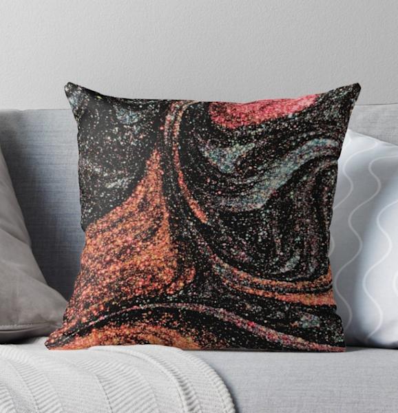 Starry Swirl Pillow