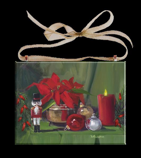 The Nutcracker by Diana Madaras Holiday Ornament