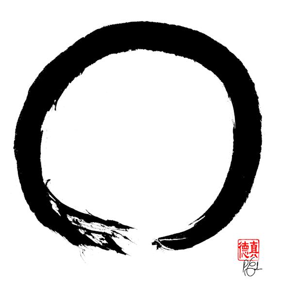 Zen Circle (Enso) 4 Art | Zen Art of Enlightenment