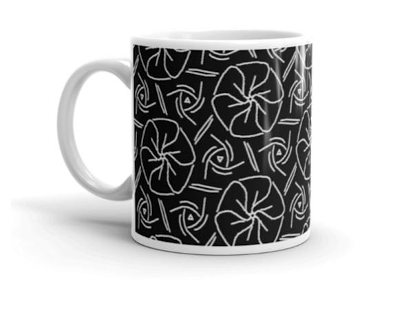 Zen Floral Mandalas Art Mug