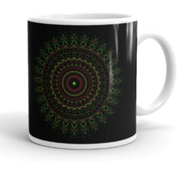 Tribute to Christ Mandala Art Mug