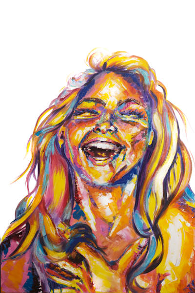 Laughter (Print Reproduction) Art | Becca Fox Art