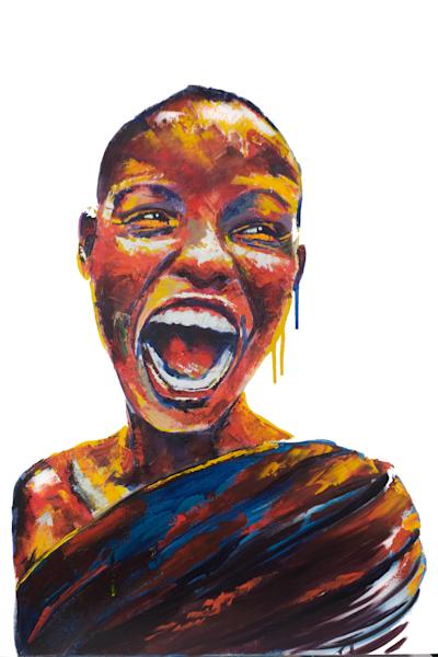 Power (Original Oil Painting) Art | Becca Fox Art