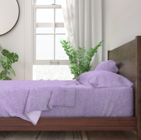 French Lavender Landscape Bedroom Decor by Dorothy Fagan