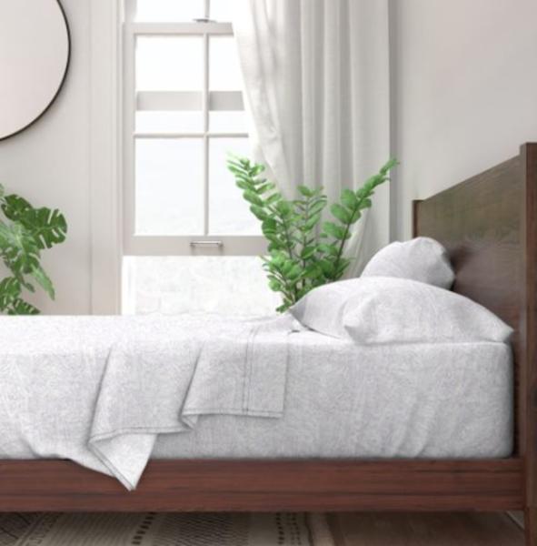 French Landscape Lavender Bedroom Decor