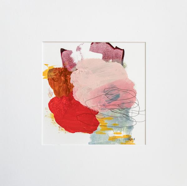 Red Accent Iv Art | Lisa Ridgers Fine Art