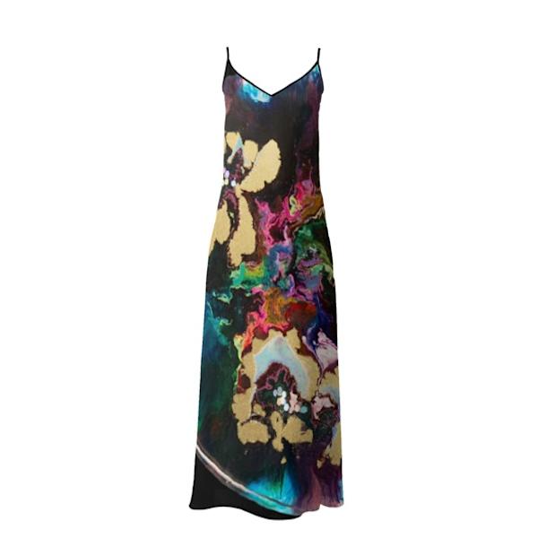 Maxi Slip Dress Fantasy