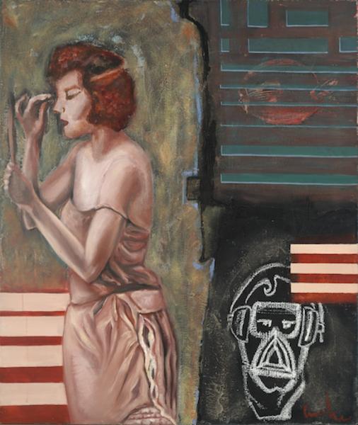 Depressed Senses' de Camille.Original Oil Painting on stretched canvas