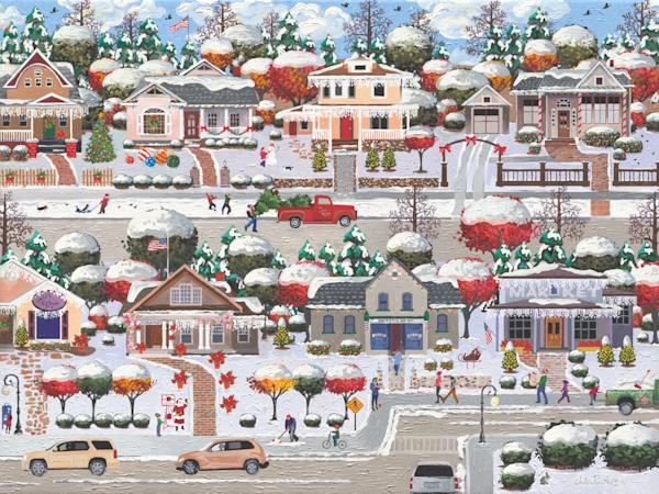 Holiday American Giving Season Art Prints