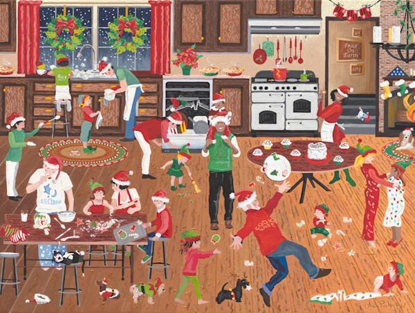 Holiday Cooking Baking Joy - Art Prints