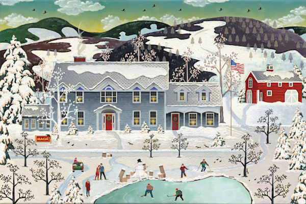 Vermont Traditional Family Home To Love Prints