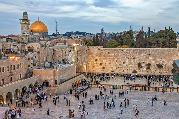 Wailing Wall, Old City of Jerusalem, Temple Mount, Holy Site, Muslim Quarter, Kotel