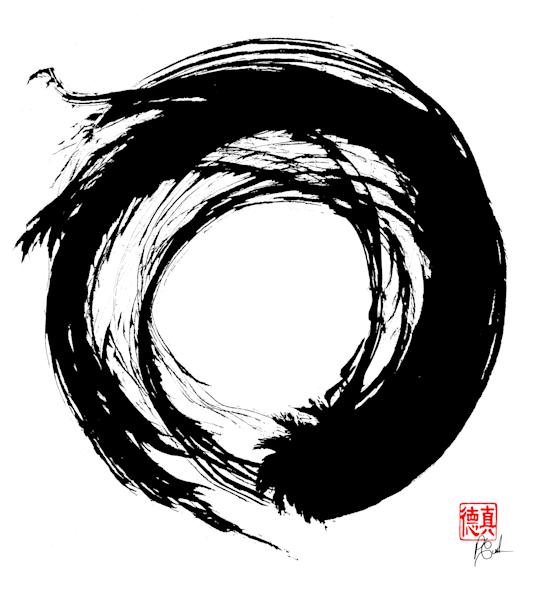 Zen Circle (Enso) 15 Art | Zen Art of Enlightenment