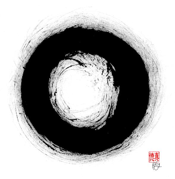 Bodhidharma's Enso Art | Zen Art of Enlightenment