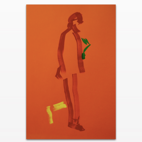 Signed limited edition acrylic print titled 'Chelsea Stride part 2'