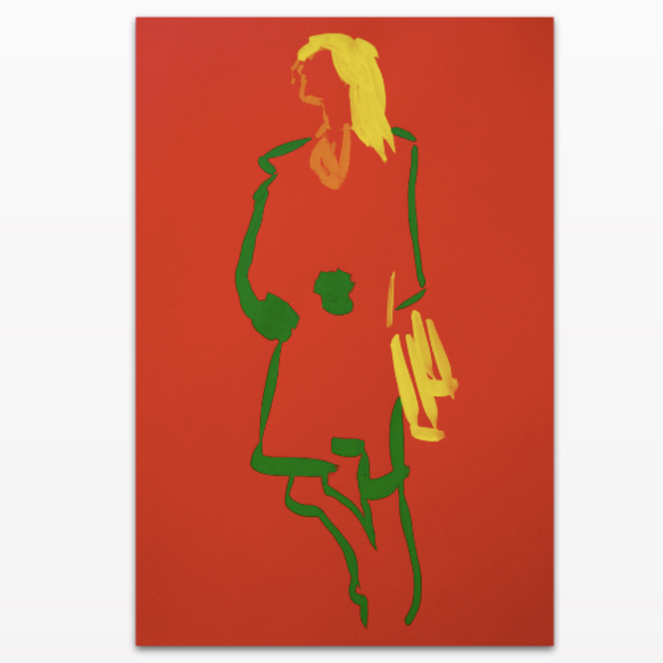 A limited-edition 'Chelsea Stride' acrylic glass Ultra HD print
