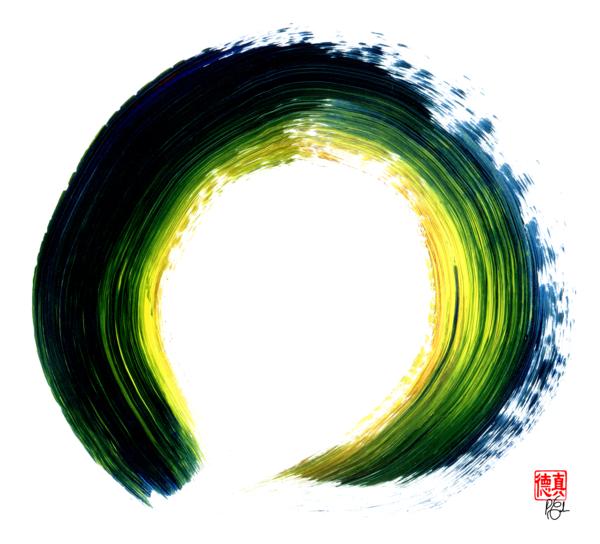 Continually Creating Itself Art   Zen Art of Enlightenment