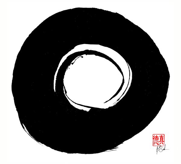 Zen Circle (Enso) 6
