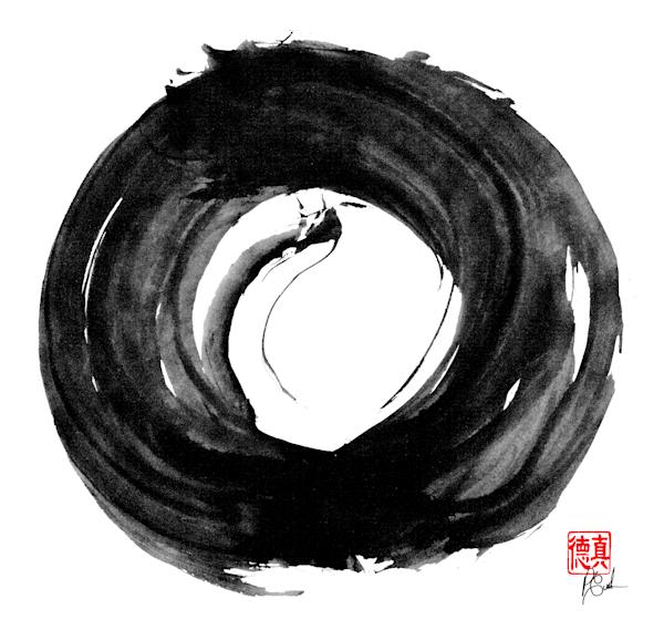 Zen Circle Dragon