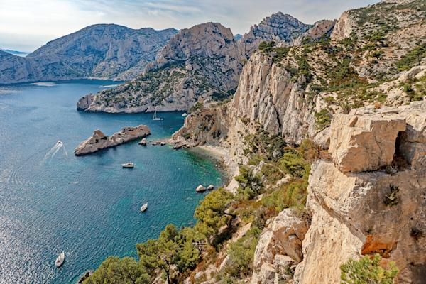 Mediterranean, Fishing Village, Cassis, France,  Provence-Alpes-Côte d'Azur region,  French Riviera, Calanques