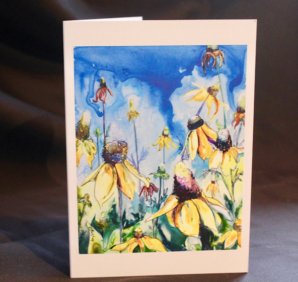 Coneflowers Art Card