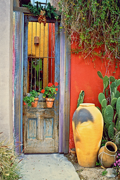 El Presidio Historic District, Old Town, Southern Arizona, Doors and Windows, Old Town