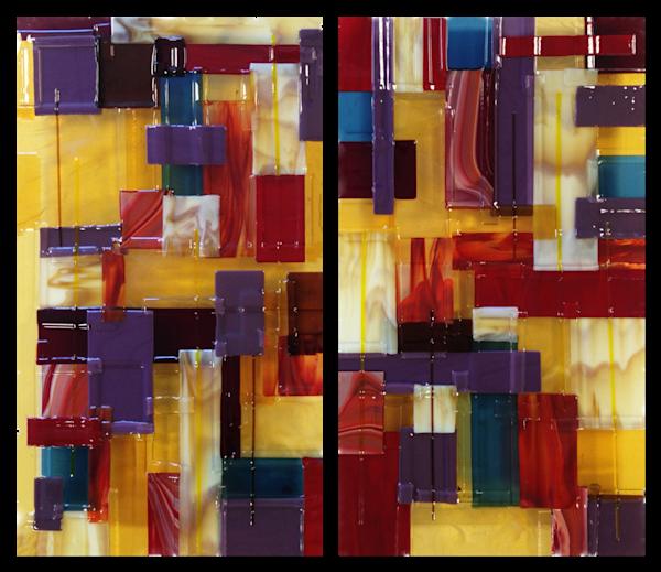 Amber Purple  Art | Natalie Ventimiglia Studios