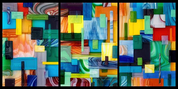Big Block Set Art | Natalie Ventimiglia Studios