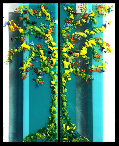 Trees Set Art | Natalie Ventimiglia Studios
