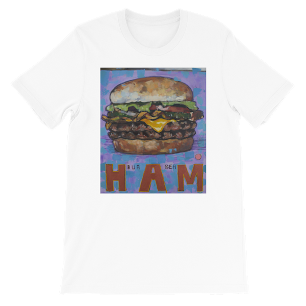 Hamburger Shirt | Matt Pierson Artworks
