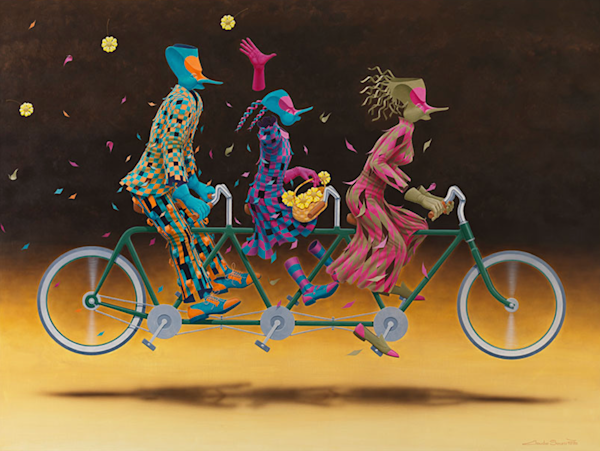 Bicicleta Tripla
